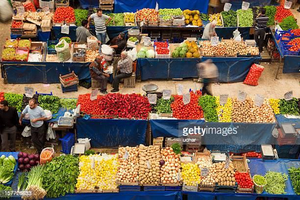 Lokaler Obst- und Gemüse-Basar, Konya, Türkei