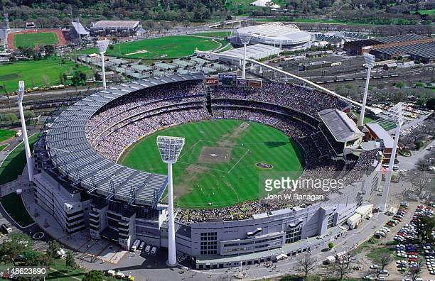 A local landmark and (almost) holy site, the Melbourne Cricket Ground