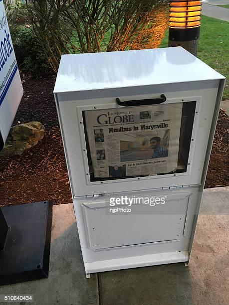 Local Newspaper Box