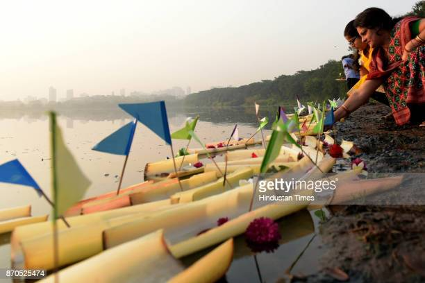 Local Oriya community under the flagship of Bombay Oriya Women's Association marks its annual festival Boita Bandana on Kartik Purnima while sailing...