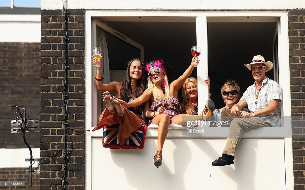 Local residents watch the Notting Hill Carnival on August 28, 2011 in London, England. The annual carnival, which is the largest of its kind in Europe and is expected to attract around 1 million revellers, has taken place every August Bank Holiday since 1966.