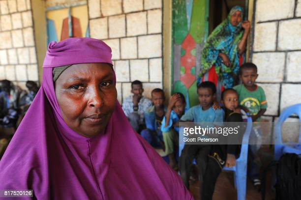 Local Somali coordinator Safiya Hassan Ibrahim speaks about how villagers have benefited from food and cash donations mobilized by a WhatsApp group...