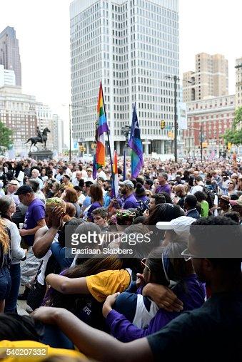 Local Victim Remembered at Orlando Massacre Vigil in Philadelphia, Pennsylvania