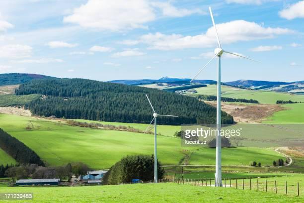 地元の風力発電