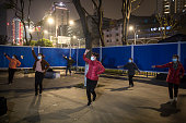 CHN: People Practice Square Dance In Wuhan As Coronavirus Cases Under Control