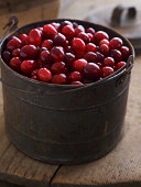 Locally grown cranberries