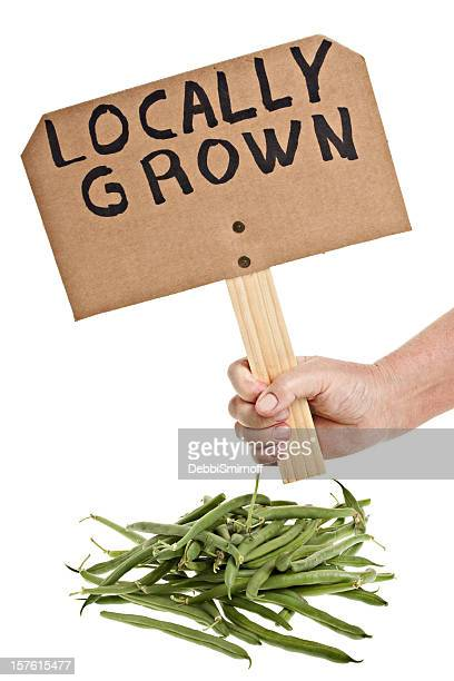 Locally Grown Green String Beans