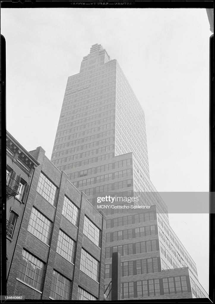McGraw Hill Building. Up Shot From 41st Street. Pictures | Getty Images