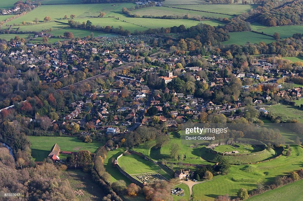 Located to the north east of Basingstoke is the Historic village of Old Basing on 21st November 2006