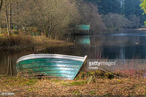 Loch Ard Boat and Boathouse