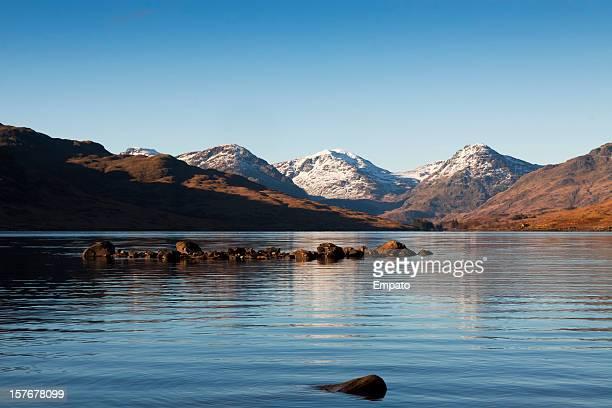 See Loch Arklet, die Trossachs, Schottland.