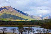 Loch Awe Argyll Butte Highlands Scotland UK