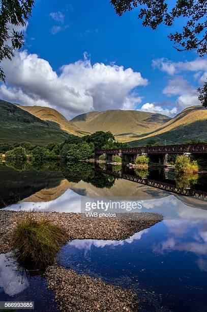 Loch Awe cloudscape, Dalmally, Scotland