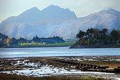 Loch Leven in Scottish Highlands