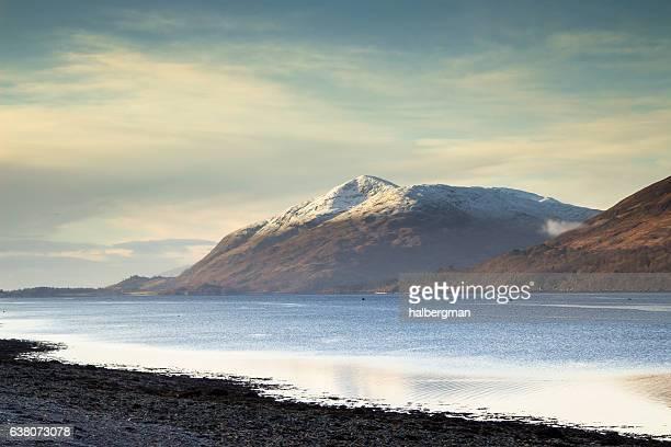 Loch Linnhe and Garbh Bheinn, Scottish Highlands