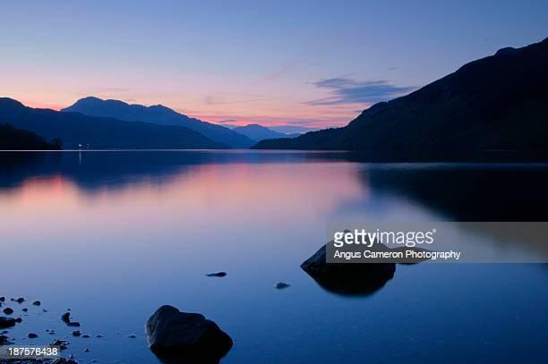 Loch Lomond sleeps