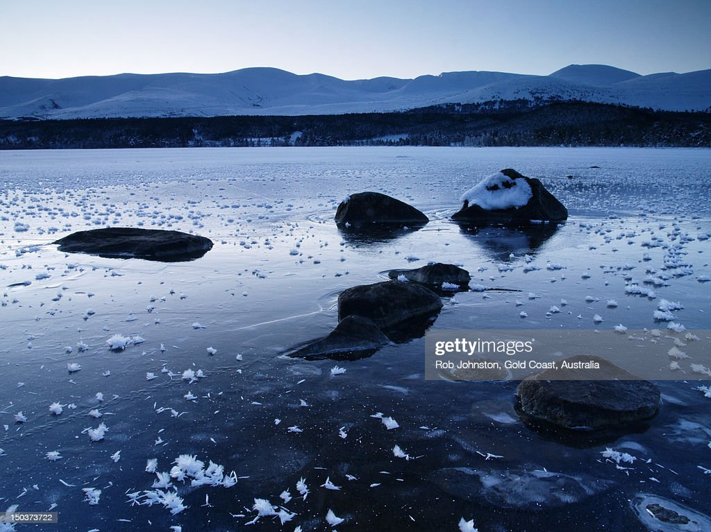Loch Morlich and Cairngorm Mountains, Highlands