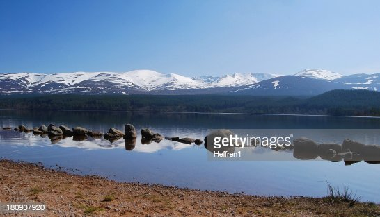 Loch Morlich : Stock Photo
