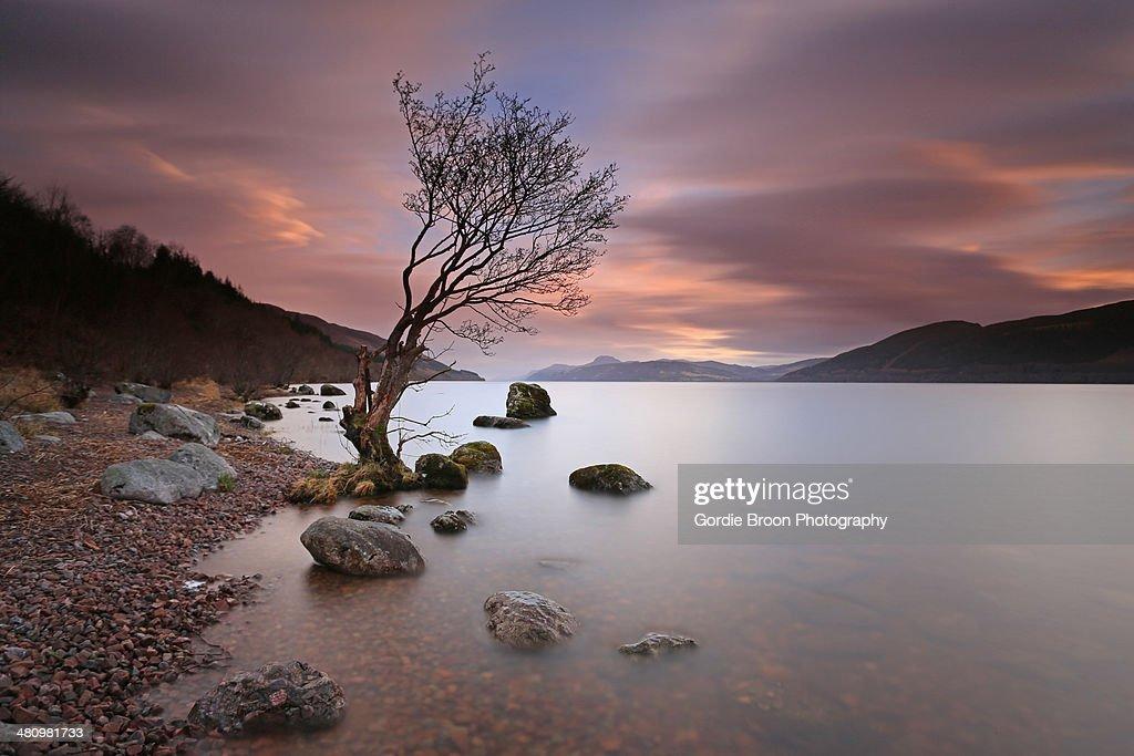 A  Loch Ness Sunset.