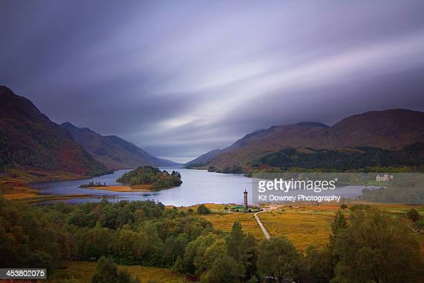 Loch Shiel in Glenfinnan, Scotland