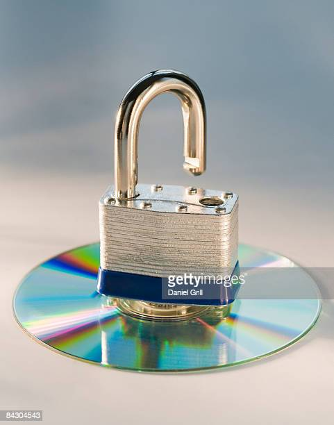 Lock and compact disc