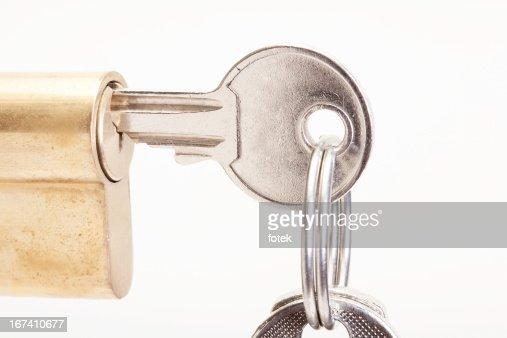Lock with keys : Stock Photo