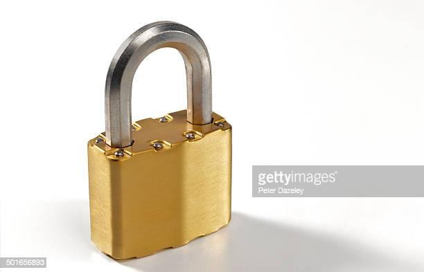 Locked up padlock