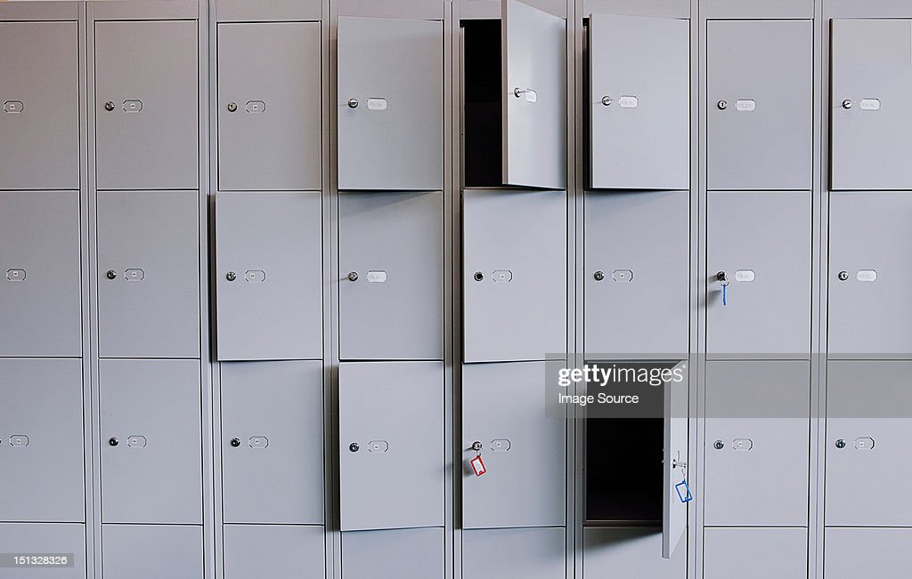 Locker doors full frame