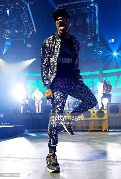 Locksmith of Rudimental performs as part of the iTunes Festival at The Roundhouse on September 20 2014 in London England