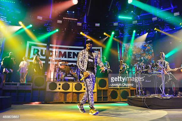 Locksmith of Rudimental performs on stage at the iTunes Festival at The Roundhouse on September 20 2014 in London United Kingdom