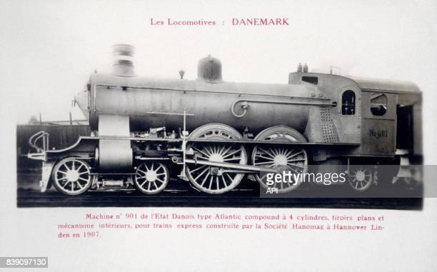 Locomotive Atlantic série P1 de l'Etat Danois