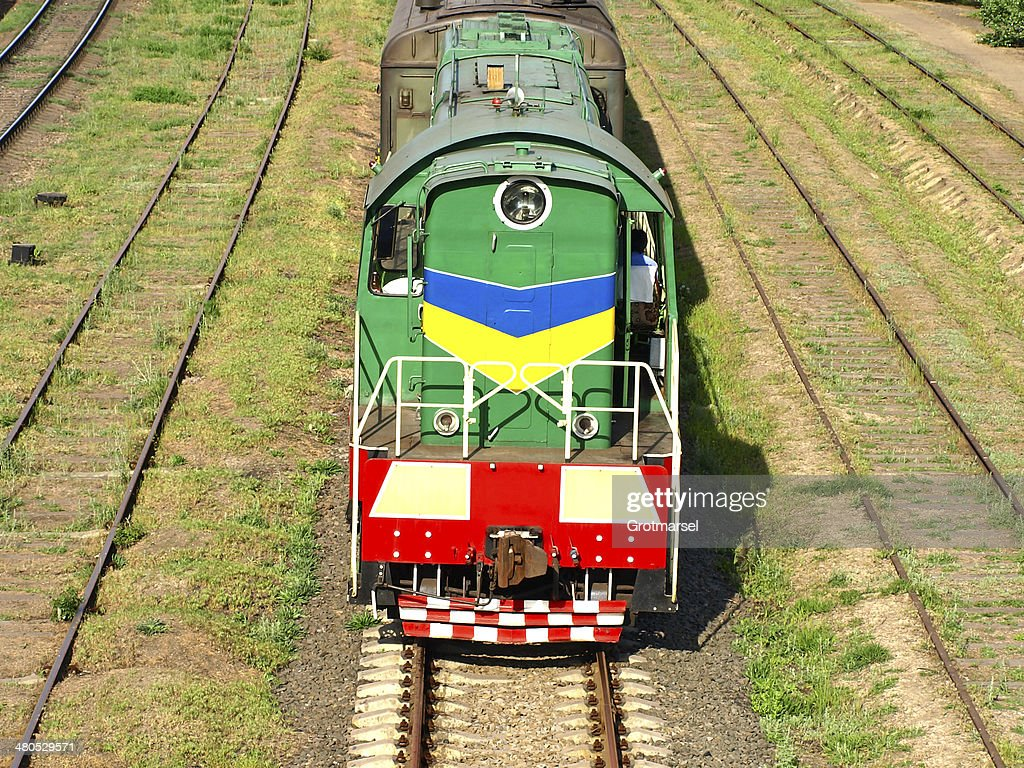Locomotive. : Stock Photo
