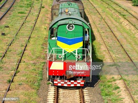 Lokomotive. : Stock-Foto