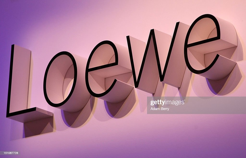 A Loewe logo during the Internationale Funkausstellung (IFA) 2012 consumer electronics trade fair on August 31, 2012 in Berlin, Germany. Microsoft, Samsung, Sony, Panasonic and Philips are amongst many of the brands showcasing their latest consumer electronics hardware, software and gadgets to members of the public from August 31 to September 5.