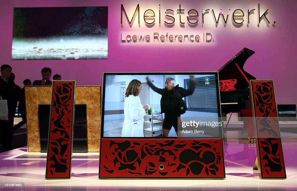 A Loewe Reference ID television is displayed during the Internationale Funkausstellung (IFA) 2012 consumer electronics trade fair on August 31, 2012 in Berlin, Germany. Microsoft, Samsung, Sony, Panasonic and Philips are amongst many of the brands showcasing their latest consumer electronics hardware, software and gadgets to members of the public from August 31 to September 5.