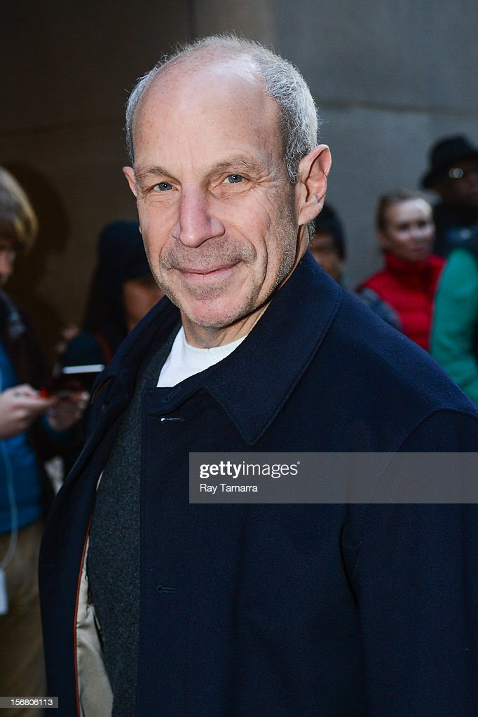 Loews Hotels Chairman <a gi-track='captionPersonalityLinkClicked' href=/galleries/search?phrase=Jonathan+Tisch&family=editorial&specificpeople=672191 ng-click='$event.stopPropagation()'>Jonathan Tisch</a> enters the NBC Rockefeller Center Studios on November 21, 2012 in New York City.