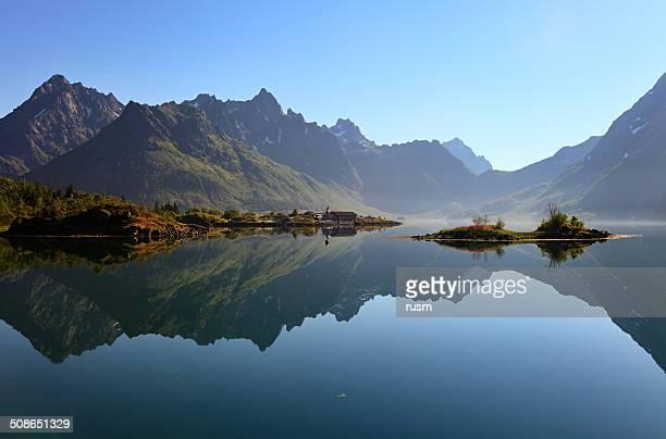 Lofoten mattino, Norvegia