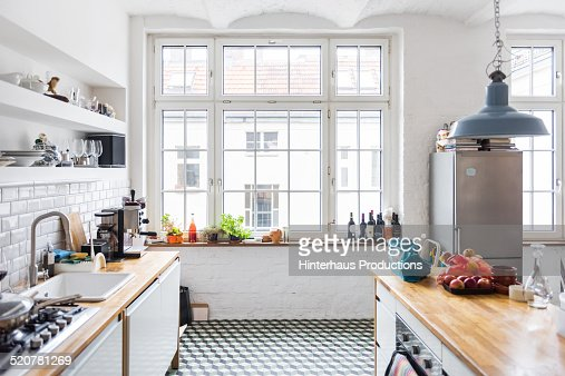 Loft Apartment Kitchen