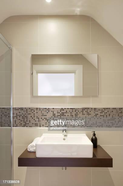 Vasque de salle de bains du loft