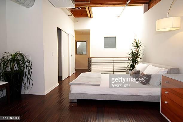 Loft-Schlafzimmer