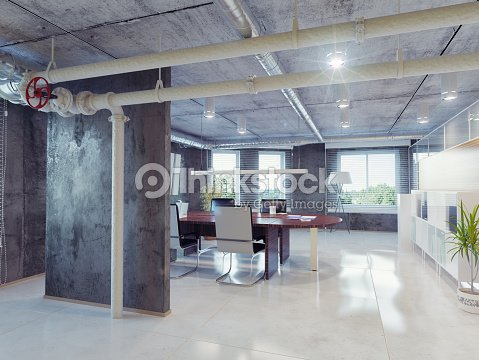 loft b ro stock foto thinkstock. Black Bedroom Furniture Sets. Home Design Ideas