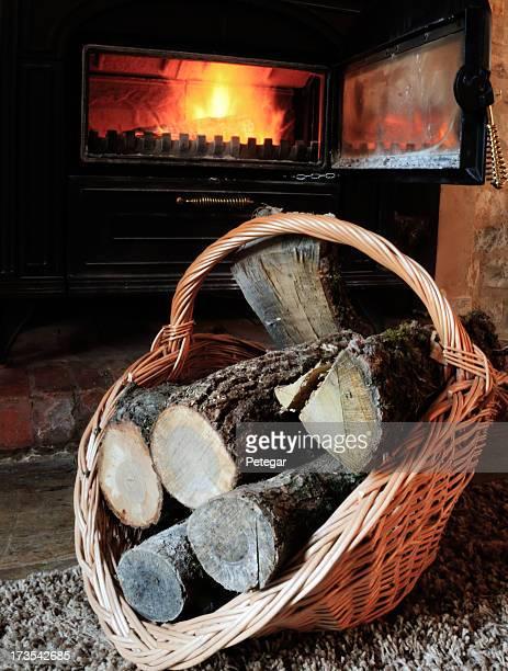 Panier de bois