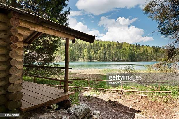 Log Cabin at Lake Frillensee