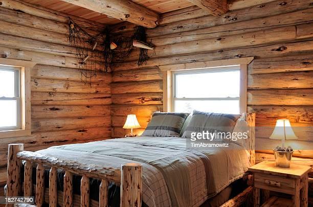 Log Cabin Schlafzimmer