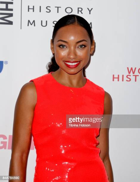 Logan Browning attends the 6th Annual Women Making History Awards at The Beverly Hilton Hotel on September 16 2017 in Beverly Hills California