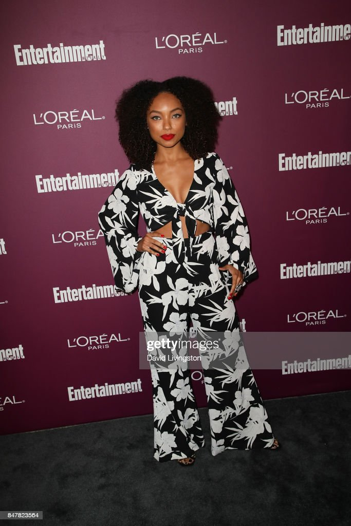 Logan Browning attends the Entertainment Weekly's 2017 Pre-Emmy Party at the Sunset Tower Hotel on September 15, 2017 in West Hollywood, California.