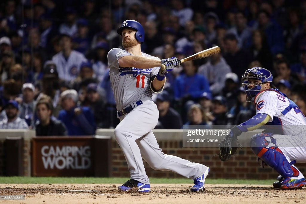 League Championship Series - Los Angeles Dodgers v Chicago Cubs - Game Five