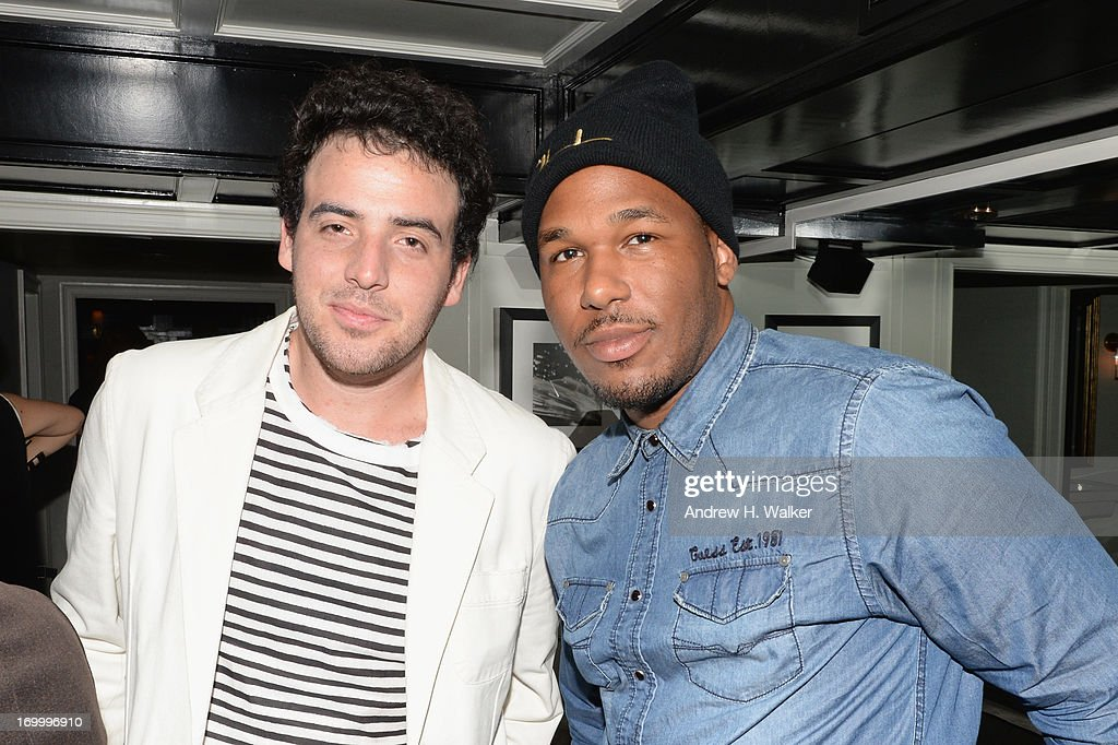 Logan Horne and Jason Rembert attend Casadei dinner at Omar's, hosted by Julia Restoin Roitfeld and Cesare Casadei celebrating Resort 2014 at on June 5, 2013 in New York City