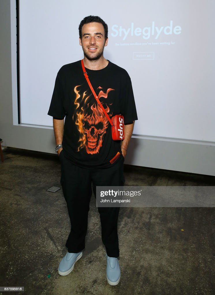 Logan Horne attends StyleGlyde App launch at Tumblr HQ on August 22, 2017 in New York City.
