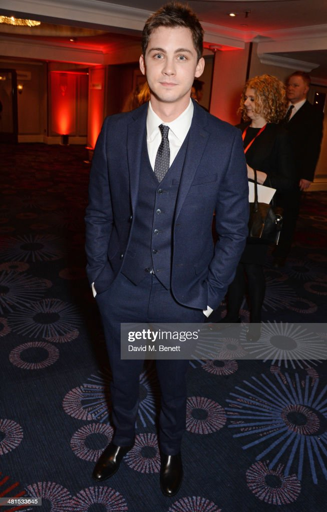 <a gi-track='captionPersonalityLinkClicked' href=/galleries/search?phrase=Logan+Lerman&family=editorial&specificpeople=635439 ng-click='$event.stopPropagation()'>Logan Lerman</a> arrives at the Jameson Empire Awards 2014 at The Grosvenor House Hotel on March 30, 2014 in London, England.